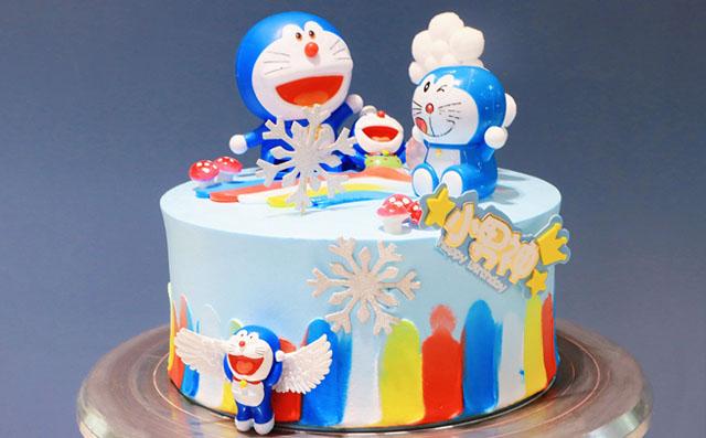 儿童卡通生日蛋糕