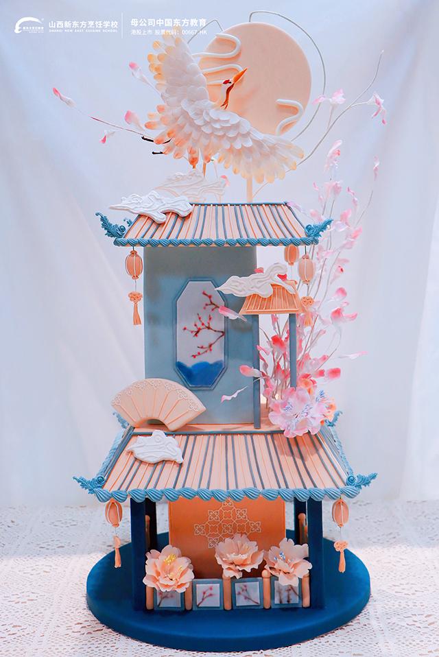翻糖蛋糕培训