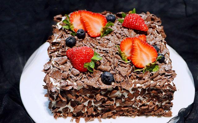 黑森林蛋糕(Schwarzwlder Kirschtorte)