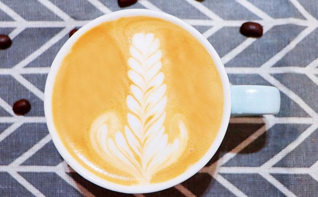 咖啡拉花技巧