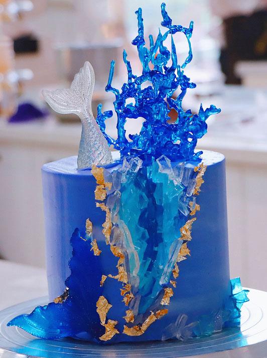 水晶溶洞蛋糕